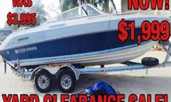 1988 Four Winns Cuddy Cabin Only $1999! Tandem-axle trailer Motor is locked up and doesn't run. Hull is solid, no rips or tears on interior. molded in swim platform boat cover Rebuild the motor and have no old motor problems. motor and outdrive complete.