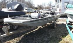 -Force 35hp motor -New tires on trailer Nominal Length: 16'