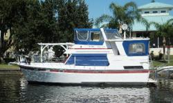 J's Toy is a great example of the very popular sundeck model Heritage East trawlers. She is the ideal for someone wanting great efficiency, space and low maintenance with absence of exterior teak. If you have ever dreamed of doing the loop or just