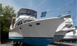 """""""CURRENT PRICE IS A GUIDE. ALL OFFERS RESPECTFULLY CONSIDERED. General Description Built in Taiwan by Lien Hwa and marketed in the US by Marine Trading International, the Tradewinds 43 Motor Yacht achieved a good deal of popularity during her"""