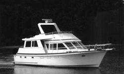 Popular, seaworthy and well constructed describe Ocean Alexander Yachts. This vessel is no exception offering low hour Caterpillar engines, Onan enclosed generator, Espar diesel heat, Furuno NAVnet2 Chart plotter, Furuno Open array 24 mile radar, a