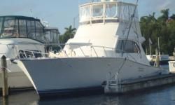 (LOCATION: Punta Gorda FL) The Post 46 Convertible is a legendary sport fisherman with great styling, premium accommodations, and exceptional fishability. This is a two stateroom convertible with flybridge, well equipped cockpit, roomy interior. The