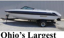 Buds Marine is Pontoonland- Ohios Largest Selection of Pontoons! 1988 Rinker 206 Captiva Powered by Mercruiser 4-cylinder 140hp 4-stroke Stern Drive  Please note: This boat model may or may not be in-stock. A Nationally Advertised Price, if listed,