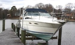 FOR QUESTIONS CONTACT: GARY 410-913-8318 or gwbgwb@aol.com 1988 Sea Ray 300 Sundancer DETAILS: -2012 5.0L 260 MPI Mercruisers, transom assemblies, Alpha outdrives -Approximately 20 hours since new power -She needs some TLC -The cockpit was mostly redone