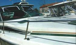 1988 Sea Ray Sundancer 300 Full bathroom with shower Stool and sink Electric cooking range Microwave 2 new batteries with charger 30 ft long With swim platform No water damages Sleeps 6 people comfortably All seats are new All plastics have been replaced