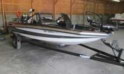 1988 STRATOS 266 Fish & Ski Bass EVINRUDE 110HP This is a great fishing and fun bass rig! This boat package is in great condition and has had many updates to the boat. This package includes a NEW MinnKota 70# thrust 24V electric motor, NEW Lowrance X4