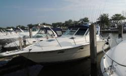 Wow we are excited to announce  this Great Fresh Water listing. This has to be one of the cleanest 33 Open on the Great Lakes. She just had a brand new Bimini top installed with a rear drop curtain. Step inside and right away you will feel at