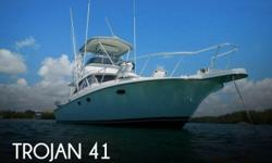 Actual Location: Miami Beach, FL - Stock #105007 - If you are in the market for a sportfish yacht, look no further than this 1988 Trojan 12 Meter Convertible, just reduced to $143,000 (offers encouraged).This vessel is located in Miami Beach, Florida and