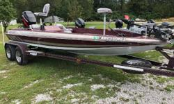 120 Compression on all Cylinders. Fortrex trolling motor, new batteries, New Trailer Tires, New seats, new Carpet! Great Rig! Nominal Length: 20' Length Overall: 20.3' Beam: 8 ft. 0 in. Stock number: Harris