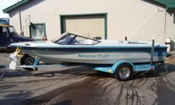 This 1989 Mastercraft comes with indmar 240hp. motor and deluxe drive on trailer. Full mooring cover and am/fm cd player. The seats have some splits, but overall the boat is in above average shape. It is ready for immediate sale! Please call 888-546-3351