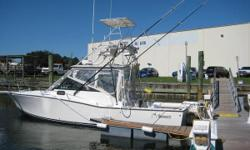 """More information to come... Category: Powerboats Water Capacity: 0 gal Type:  Holding Tank Details:  Manufacturer: Albemarle Boats Holding Tank Size:  Model: 27 Passengers: 0 Year: 1989 Sleeps: 0 Length/LOA: 27' 0"""" Hull Designer:  Price: $9,990 /"""