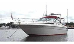 This well-maintained 28 1989 SeaRay Sundancer is located in   Salisbury , MA . She is powered by twin I/O Mercruiser V6 4.3 Liter engines, both new in 2000. They are fresh water cooled. She has a 30 LOA with a stable 10.5 ft Beam. She offers a fully