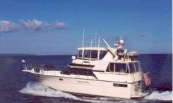 """REMARKS """"Ocean Flyer;"""" latest model 45 Californian represents an industry design best effort. Her equipment and condition are outstanding. A proven ideal """"Looper"""" and Bahamas cruiser. Note specifics in listings full detail. """"Ocean Flyer"""" benefits from"""