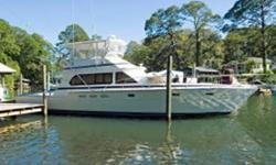 Description The Hi-Star 52 is a top of the line sportfisherman with a reputation for durable construction superb engineering and a comfortable ride. You come aboard to a large well-equipped cockpit that is dedicated to the fisherman complete with cockpit