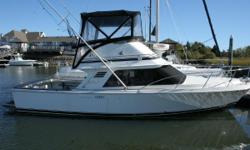 Price reduced.  GREAT BUY!!! Located Guilford, CT.The Blackfin 29' Flybridge is rated as a top class sport fishing vessel with all amenities included. Both casual and professional fishing individuals alike will find this 1989 29' Blackfin