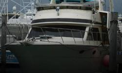 Actual Location: Miami, FL - Stock #100907 - If you are in the market for a motor yacht, look no further than this 1989 Californian 45 Sundeck Double Cabin, just reduced to $89,000 (offers encouraged).This vessel is located in Miami, Florida and is in