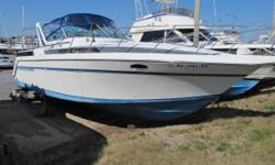 THIS 1989 CHRIS CRAFT 370 AMEROSPORT IS NEWER THAN YOU THINK.....ALL NEW FULL CAMPER CANVAS AND EISENGLASS....NEW COCKPIT UPHOLSTERY AND CUSHIONS!!  Nominal Length: 37' Length Overall: 37' Beam: 13 ft. 0 in. Fuel tank capacity: 326 Water tank