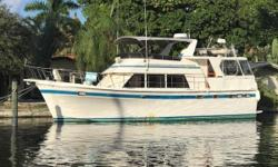 If you are searching for the perfect 'Live-Aboard', Long Range Cruiser or a Great American Loop vessel, Com Monday is Turnkey and ready for your dream! From her huge, expansive Aft Deck, very large and accommodating Bridge, cavernous and spaciousness