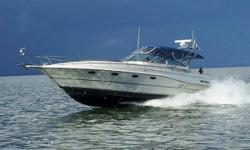 The Cruisers 3670 Esprit offers spacious accommodations both above and below deck. Very well maintained and updated throughout. Only about 15 hours on rebuilt motors! UPDATES PER SELLER: 2016-2017: Replaced pressure plates on both transmissions, new GPS,