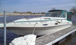 If you are looking for a big boat for not a lot of money here is your chance. Trades considered. CANVAS BIMINI TOP CAMPER CANVAS COCKPIT COVER CONVERTIBLE TOP SIDE/AFT CURTAINS DECK ANCHOR W/LINES BOW PULPIT W/RAIL FENDERS & LINES SPOTLIGHT TRANSOM SHOWER