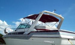 Second Huge Price Reduction , Owner Wants Boat Sold Now!! (LOCATION: Hernando Beach FL) The Formula 35 PC is a full-featured family cruiser with style, room, and performance.  She features a large open cockpit with ample seating and a comfortable