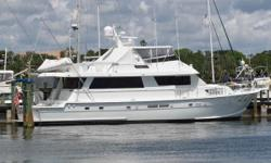 This is a custom 74 Hatteras originally designed to the requirements of NASCAR legend Dale Earnhart, Sr. in 1989 who wanted a luxury yacht capable of off shore fishing. The yacht was equipped per his specifications with big game fishing gear including