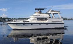 Immaculate Three Stateroom Sundeck Trawler/ Motoryacht   Be Sure To Watch The Walk-through Video!   Emily Sue is an exceptional example of a very high end Taiwanese Motoryacht/ Trawler.  Hi-Star was well regarded as a builder of highly