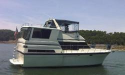 "This is a must see-classic aft cabin... Tons of storage and Tons of character... With her beam of 14'4"" she is a rather comfortable ride... She has had only two owner since new and has always been in freshwater... Double cabin floor plan, master stateroom"