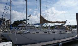 This boat presents a bit rough, (mainly the brightwork), but is an excellent candidate for a buyer who can see through the cosmetic deficiencies, and is looking for Island Packet quality at a reduced price. She is simply equipped, has an Awlgripped
