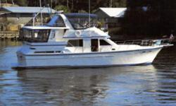(LOCATION: Pensacola FL) This Jefferson 42 Sundeck Motor Yacht has classic style and accommodations. Whether you are planning a weekend getaway, liveaboard, or a cruise to the islands this 42 motor yacht is ready to accommodate. She features a