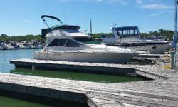 The 1989 Sea Ray 300 Sedan Bridge comes with twin 5.7L MerCruiser V-drives, 6.5 kW Generator and air conditioning. Nominal Length: 30' Length Overall: 29.8' Engine(s): Fuel Type: Other Engine Type: Inboard Beam: 12 ft. 0 in. Fuel tank capacity: 200 Water