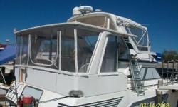 1989 Sea Ray 440 Aft Cabin located in Jacksonville, FL If you are considering a mid-forties aft cabin, you'll want to take a look at this one. Galley down. Master stateroom and head aft. Guest stateroom forward. New heads in both