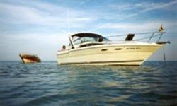 Inboard-powered Express Cruiser. This boat has bee properly maintained and in a covered well for the last 12 years. Very spacious interior and roomy cockpit are great for long cruises or entertaining family and friends. Trades considered. CANVAS BIMINI