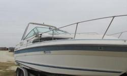 1989 Sea Ray Sundancer 268 Includes Trailer Default Disclaimer The Company offers the details of this vessel in good faith but cannot guarantee or warrant the accuracy of this information nor warrant the condition of the vessel. A buyer should instruct