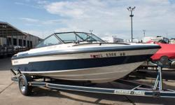 Rich in performance and features, affordable in price. Stratos Boats are built for born competitors. This Stratos just arrived to our lot and is being sold AS IS. This would be a great boat for someone looking to spruce it up! It has the ability to become