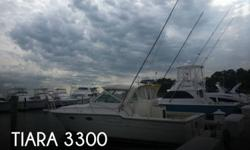Actual Location: Rehoboth Beach, DE - Stock #111136 - If you are in the market for a sportfish yacht, look no further than this 1989 Tiara 3300, priced right at $55,600 (offers encouraged).This vessel is located in Rehoboth Beach, Delaware and is in great