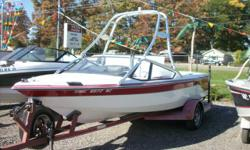 Perfect for watersports! Boat is powered by a 220hp Mastercraft 305 V8. For more information call us today at 800-875-2620 or view Michigan's largest selection of boats direct only at www.wilsonboats.com Stock ID: 27283Specs Length Overall (LOA): 19'