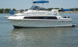 """More Category: Powerboats Water Capacity: 70 gal Type: Motoryacht Holding Tank Details:  Manufacturer: Carver Holding Tank Size:  Model: Mariner Passengers: 0 Year: 1990 Sleeps: 0 Length/LOA: 32' 0"""" Hull Designer:  Price: $44,900 / €34,504 Engine"""