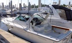 Accommodations Forward is the owners cabin with an offset queen berth to starboard. Following aft is the salon with a C-shaped convertible dinette to port with storage lockers under and outboard. Opposite to starboard is a straight settee that converts to