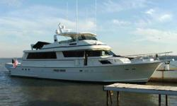Description **The engines had a complete in-frame overhaul about 3 years ago. They have 600 hours since overhaul. Vessel Walkthrough Triple Net is a 1990 77 Hatteras Motor Yacht with a customized interior and with an added cockpit. She features