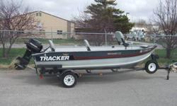 1990 Bass Tracker boat for sale. Has 35HP Mercury outboard engine. Brand new Cabella's boat cover with seven year warranty. Boat is decked and has live well. It is ready to fish IMMEDIATELY. Comes with anchors, life jackets, emergency horn, fire
