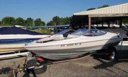Includes: In-Floor Ski Locker, Mooring Cover, Stereo w/ Speakers. Fish Finder, Also Trailer is includedGive us a call today for more information regarding this boat or other like it. 937-843-3036 or Email sales@spendaday.com Engine(s): Fuel Type: Gas