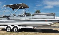 1990 Hurricane 19 Fun Deck Boat, Yamaha 175 V6, new upholstery and transom, Hummingbird depth finder, tandem axle trailer, ready to roll $9,995.00 Nominal Length: 20' Length Overall: 20' Beam: 7 ft. 6 in.