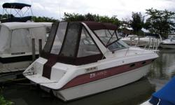 Freshly detailed, new bellows and water pumps. Clean low hour boat ready for a new owner. Beam: 9 ft. 0 in. Compass; Depth fish finder; Stove; Vhf radio; Stereo; Bimini top; Shore power; Fridge; Shower; Swim platform;