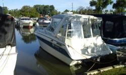Nice two owner boat that we sold new. Newer interior and canvas. Beam: 9 ft. 0 in. Compass; Depth fish finder; Stove; Vhf radio; Stereo; Bimini top; Shore power; Gps loran; Fridge; Shower; Camper canvas;