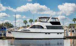 """""""Friedle's Ocean"""" is clean fresh water motor yacht with anexpansive galley up layout and three queen-berth staterooms each with private bath. Key Features Bow Thruster Stabilizers Freshwater boat Well Maintained"""