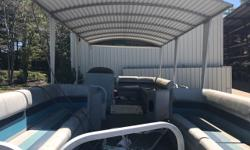 Hard top 28' pontoon with V6 I/O. Was winterized 2 years ago and hasn't been started since. No trailer Beam: 8 ft. 0 in.