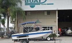 1990 Riviera dual console 17 $3,995 Stock # 7969 EXCELLENT FINANCING AVAILABLE This boat includes the following options: ? Dual Console ? walk through windshield ? new bimini top ? all wood removed from new sole ? good trailer! Stock number: 7969