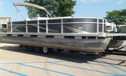Options:2004 Honda 50hp motor, New Flooring, New Carpet, Updated Fencing, 3 Portable Cupholders, Stereo w/ 2 Speakers, New Cover, Bimini Top, Docking Lights, Compass.Trailer Not Included. Engine(s): Fuel Type: Gas Engine Type: Outboard Quantity: 1 Beam: 8