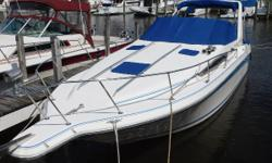 New Listing~ Updated to ultra leather interior in cabin. Nominal Length: 27' Length Overall: 30.5' Length Of Deck: 28.6' Max Draft: 3' Engine(s): Fuel Type: Other Engine Type: Stern Drive - I/O Draft: 3 ft. 0 in. Beam: 8 ft. 6 in. Fuel tank